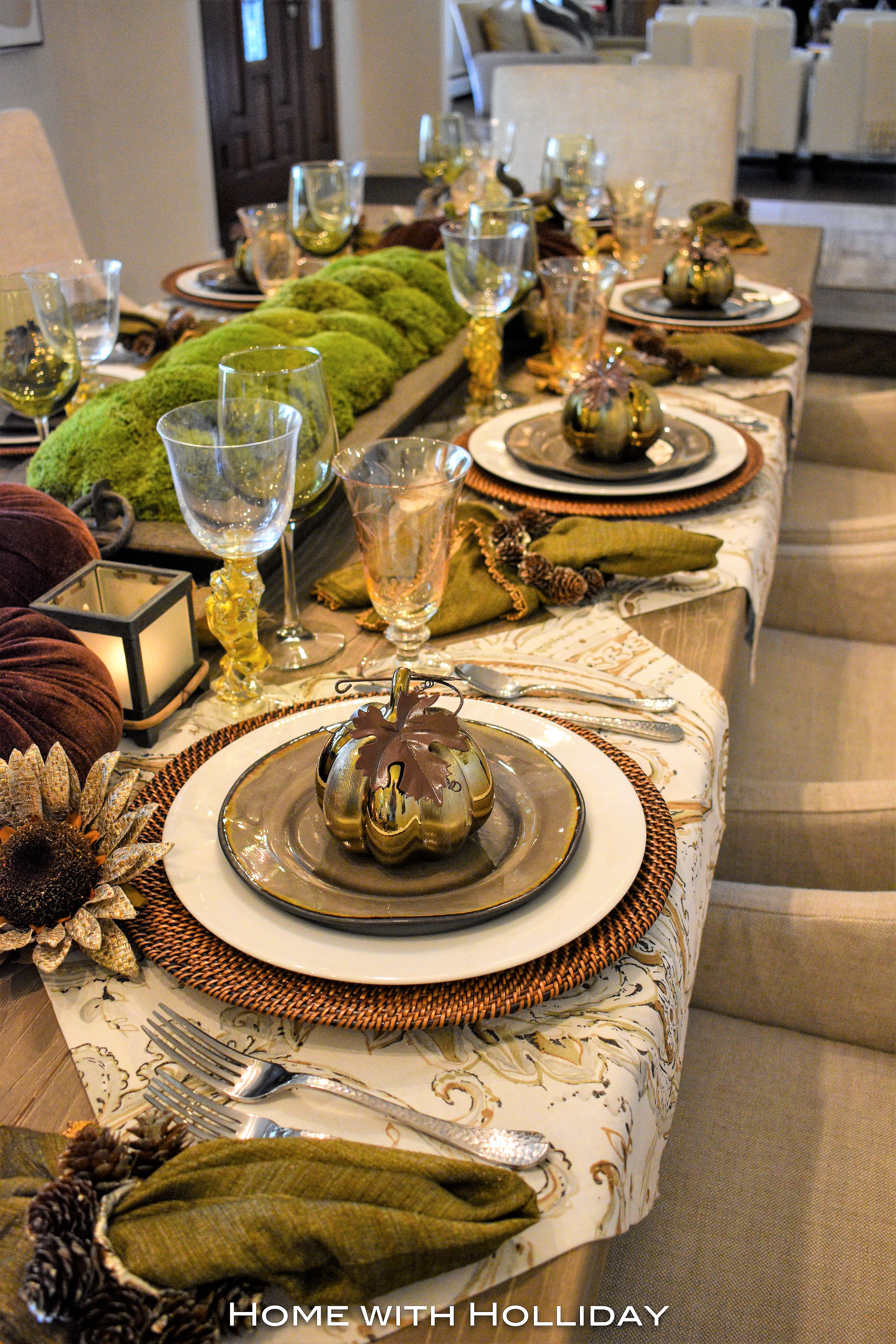 Simple Ideas for Fall Table Settings 6