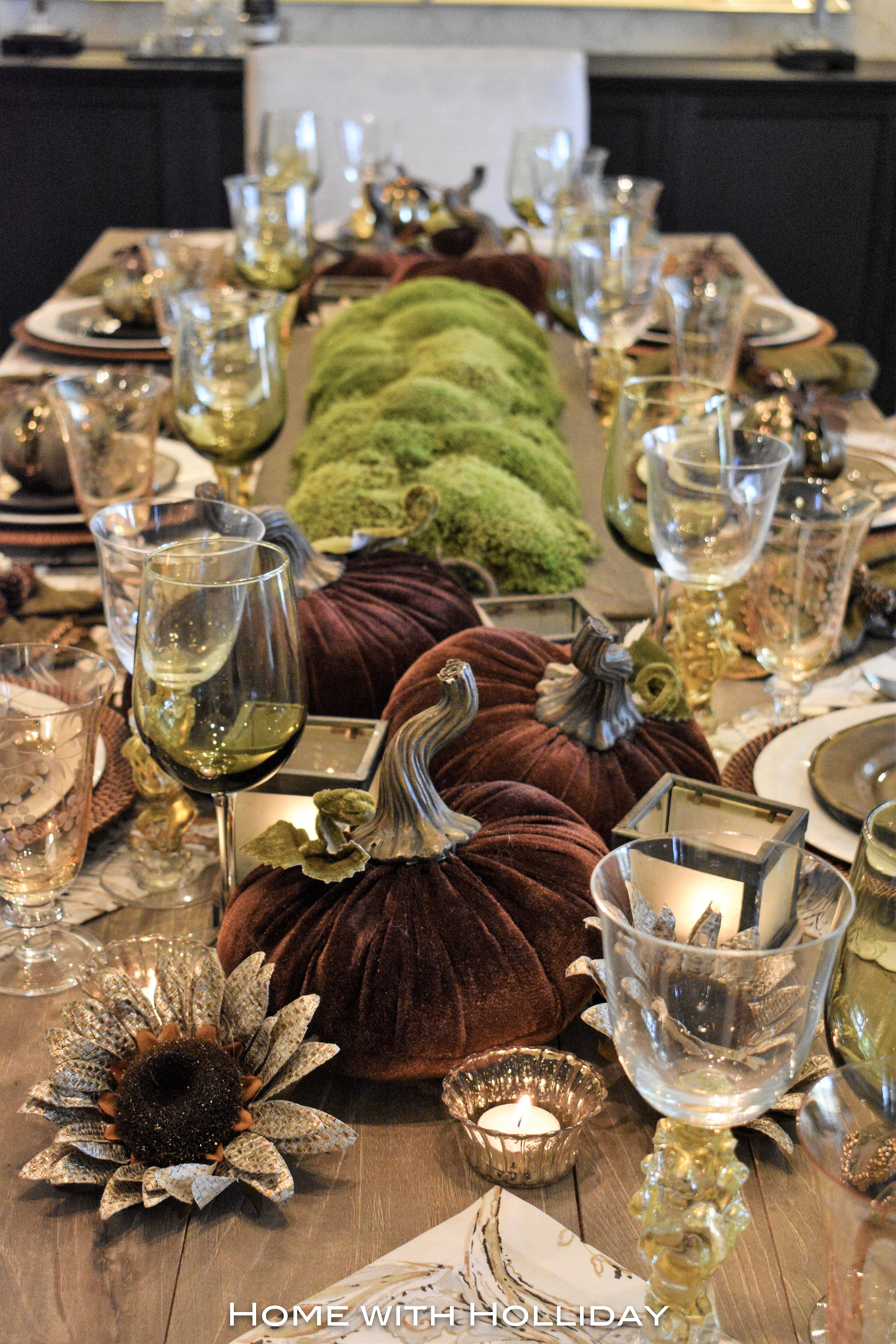 Creative Ideas for Fall or Thanksgiving Table Settings and Home Decor 22
