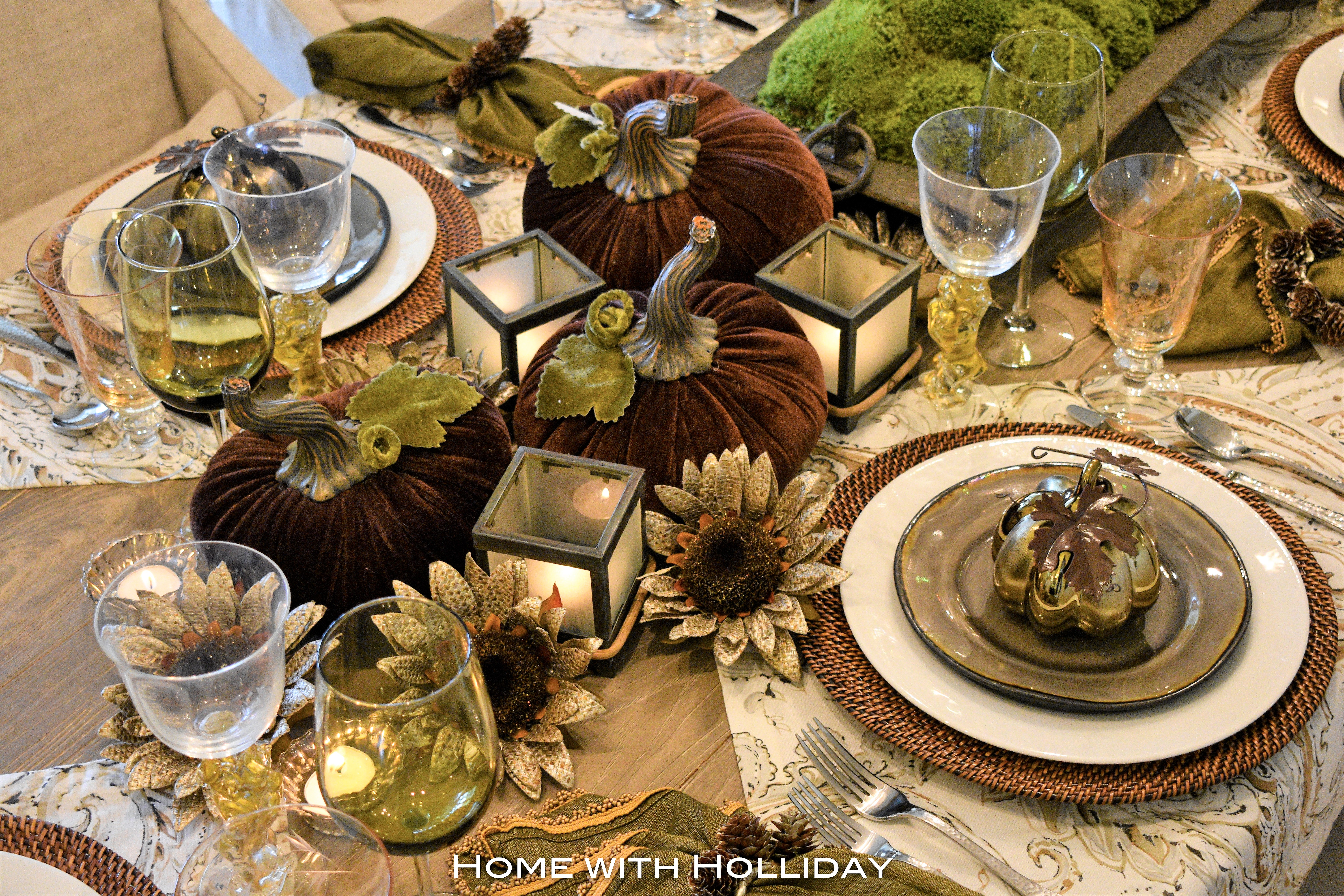 Simple Ideas for Fall Table Settings 5