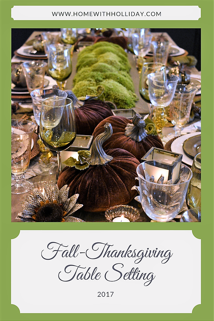 Fall-Thanksgiving Table Setting-2017