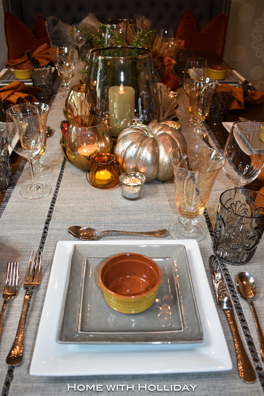 Casual Fall Table Setting