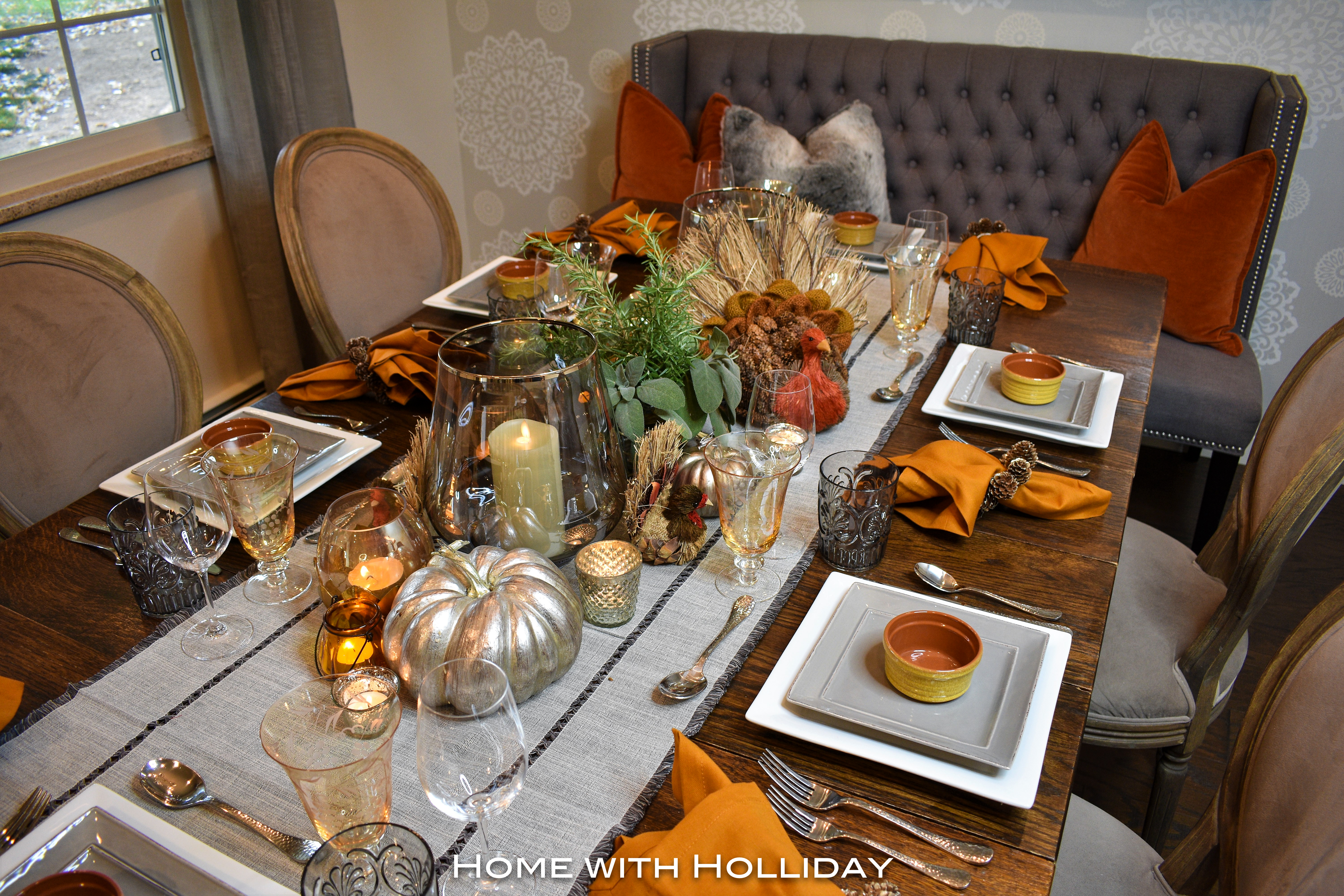 Simple Ideas for Fall Table Settings 3