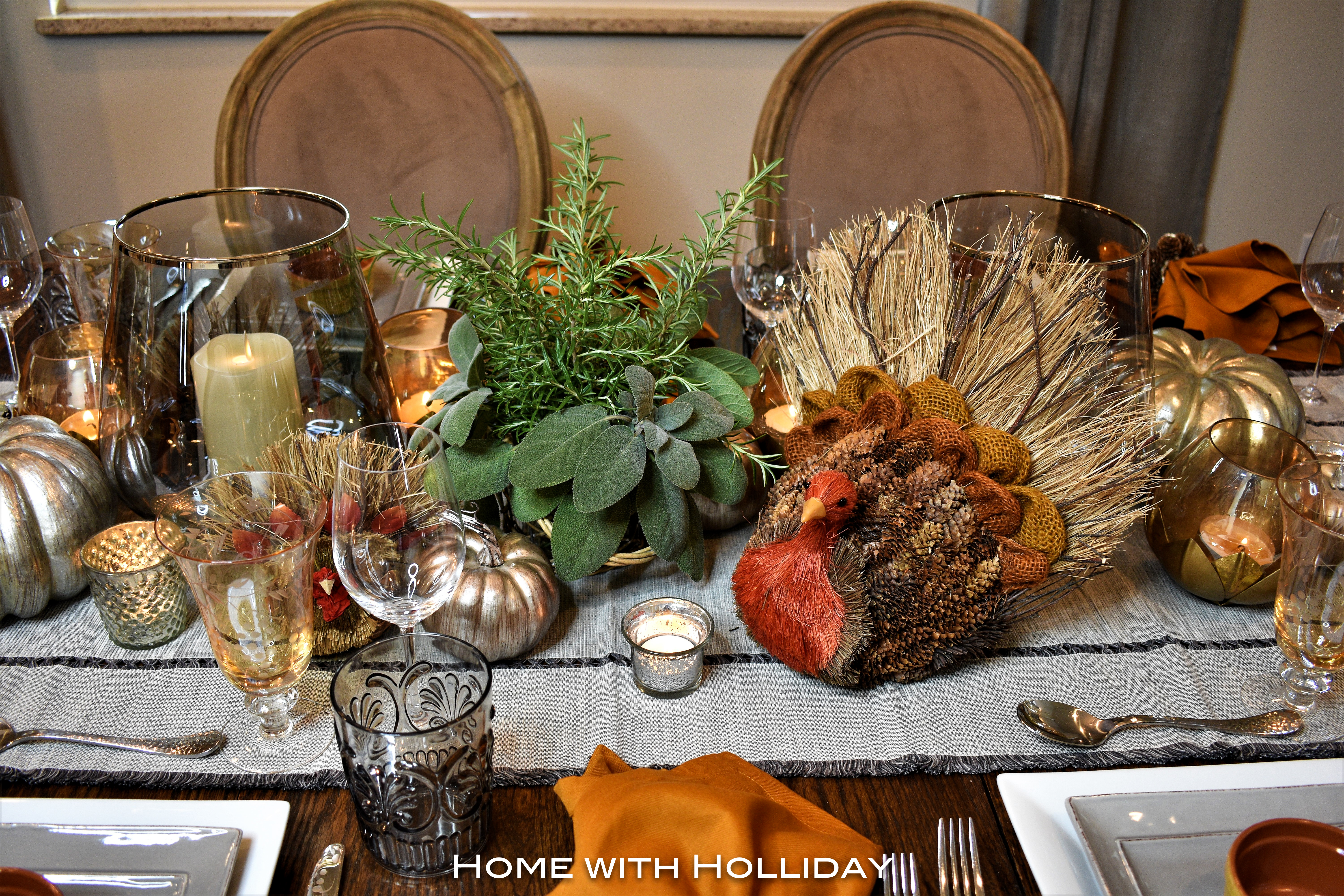 Simple Ideas for Fall Table Settings 2