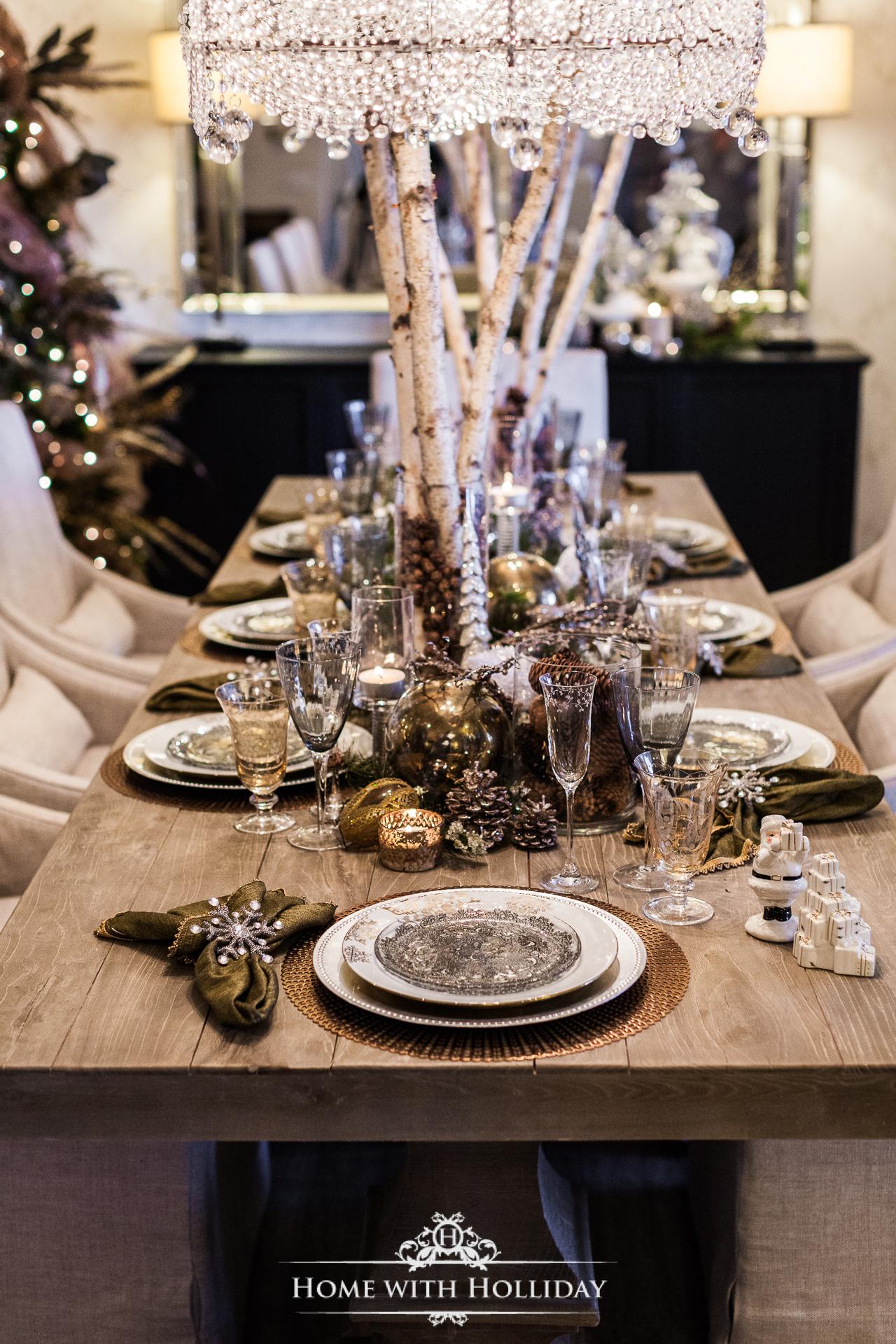 Christmas Decorating Ideas - Mix Metallics