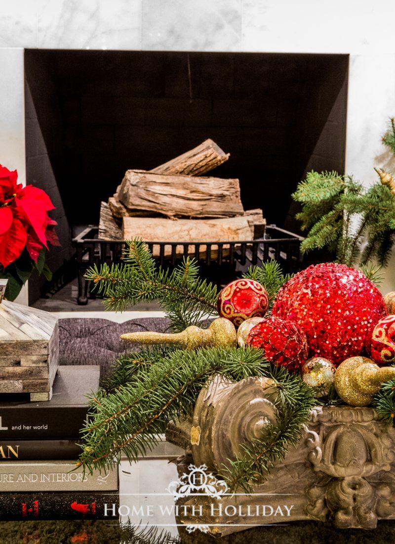 Christmas Home Tour - Living Room - Home with Holliday