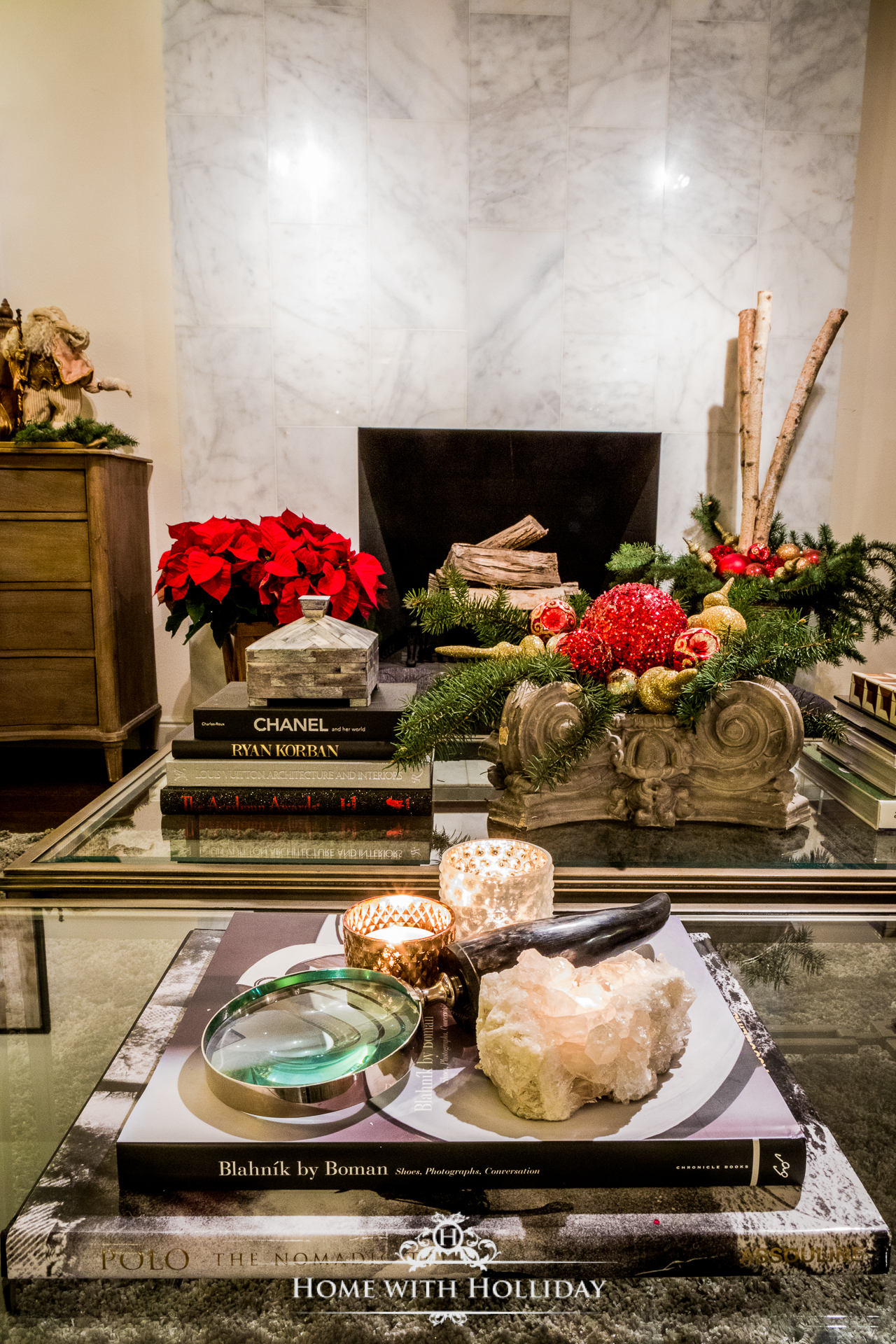 Christmas Home Tour - Living Room - Home with Holliday