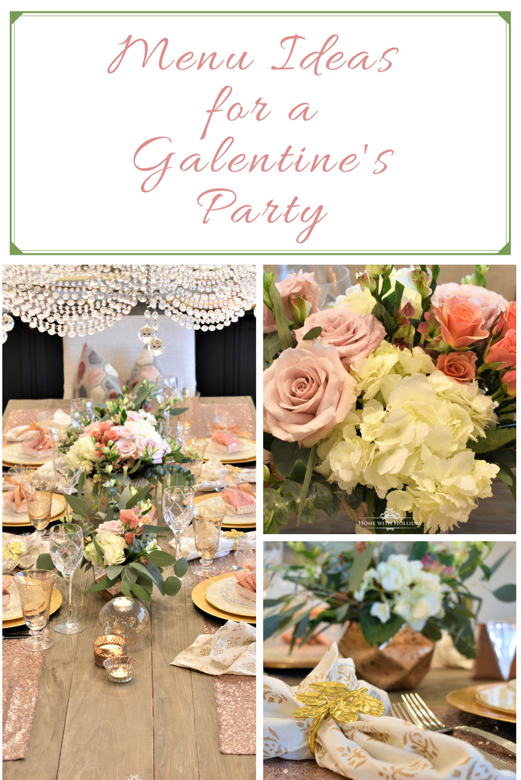 Menu Ideas for a Galentine's Party