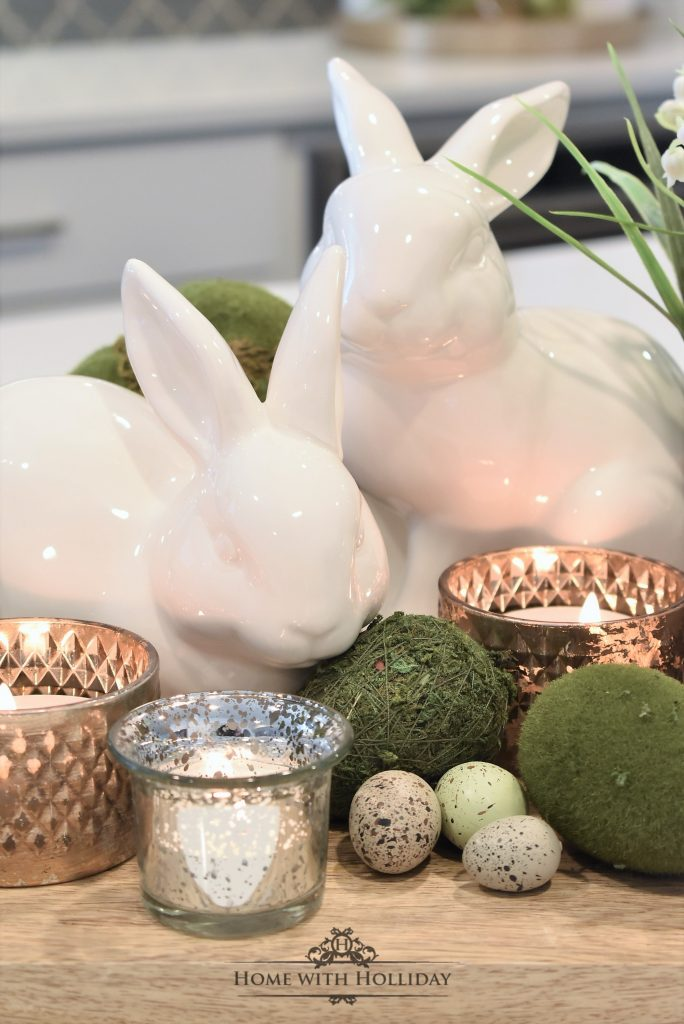 Tip for Creating Simple Spring or Easter Décor - Home with Holliday