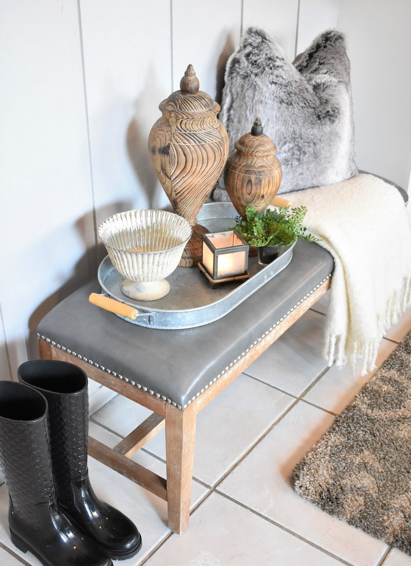 Styling a Bench 6 Ways – Part Three