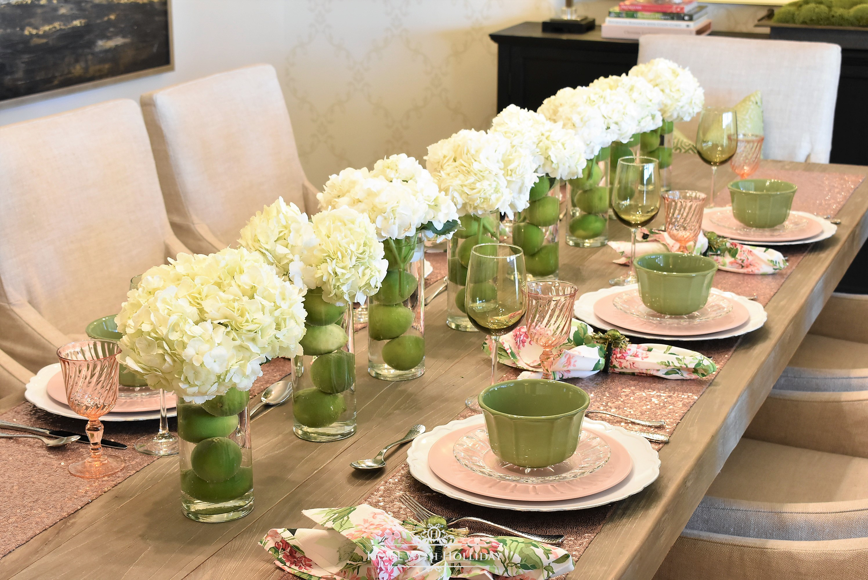 Spring Table Setting For Mother S Day Luncheon Home With Holliday