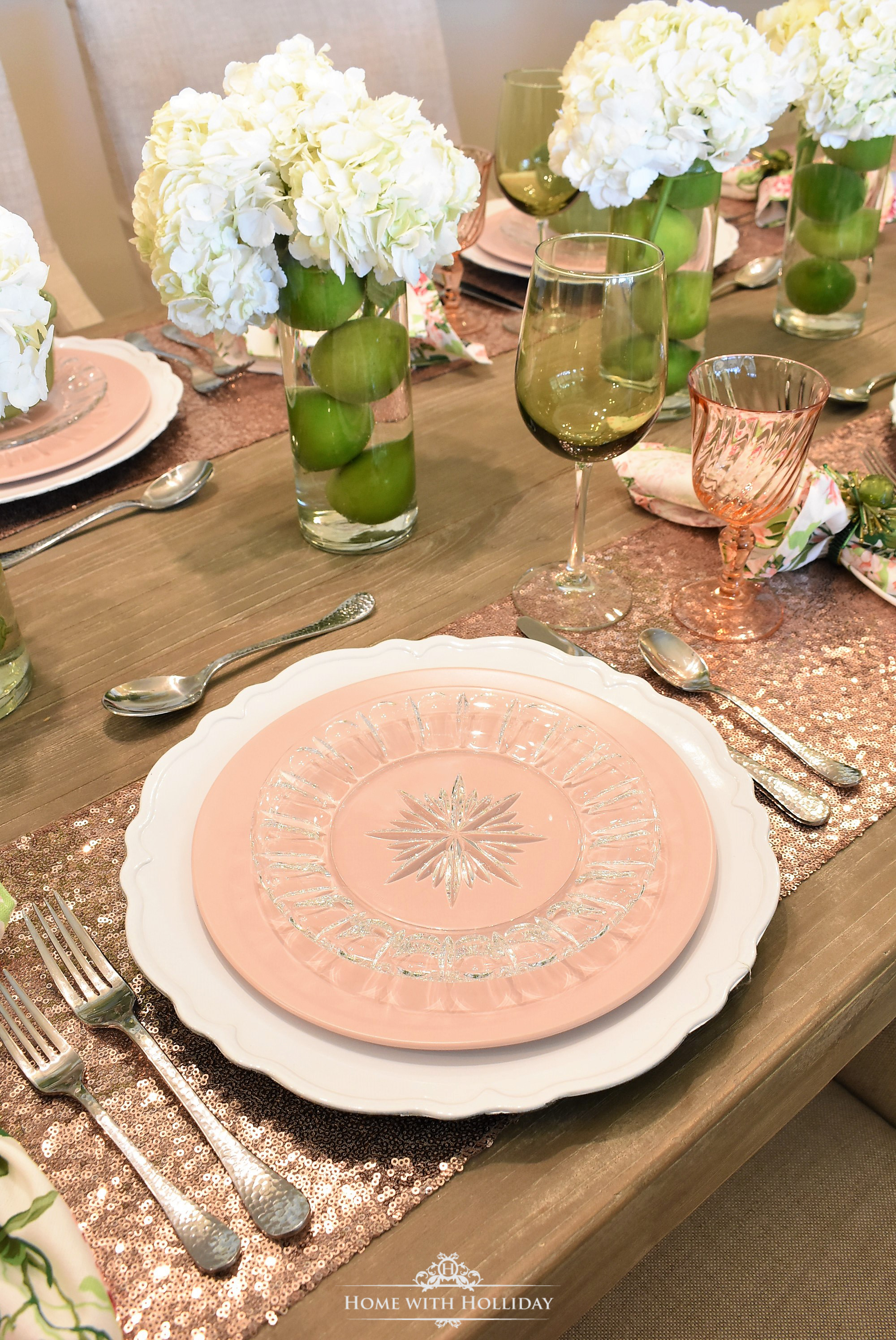 Spring Table Setting - Home with Holliday