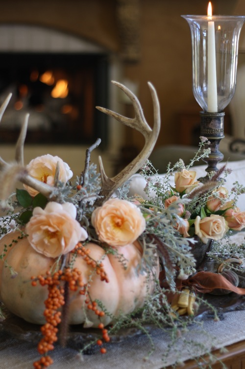 Creative Ideas for Fall or Thanksgiving Table Settings and Home Decor 20