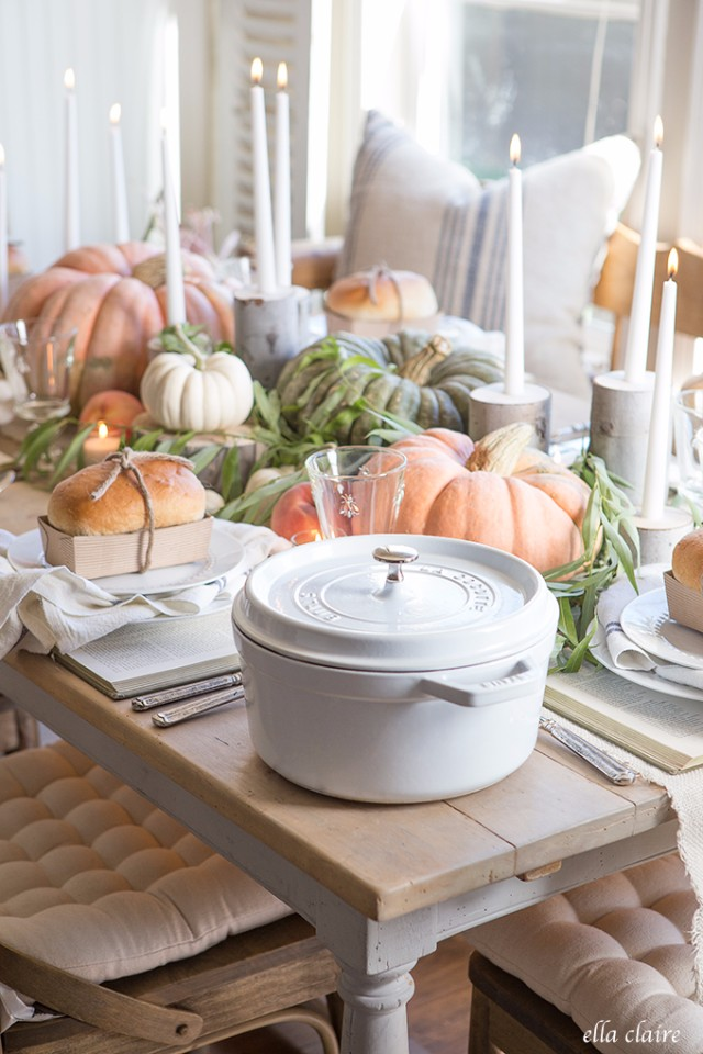 Creative Ideas for Fall or Thanksgiving Table Settings and Home Decor 11
