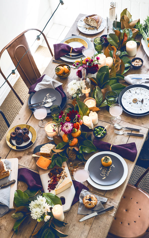 Creative Ideas for Fall or Thanksgiving Table Settings and Home Decor 5