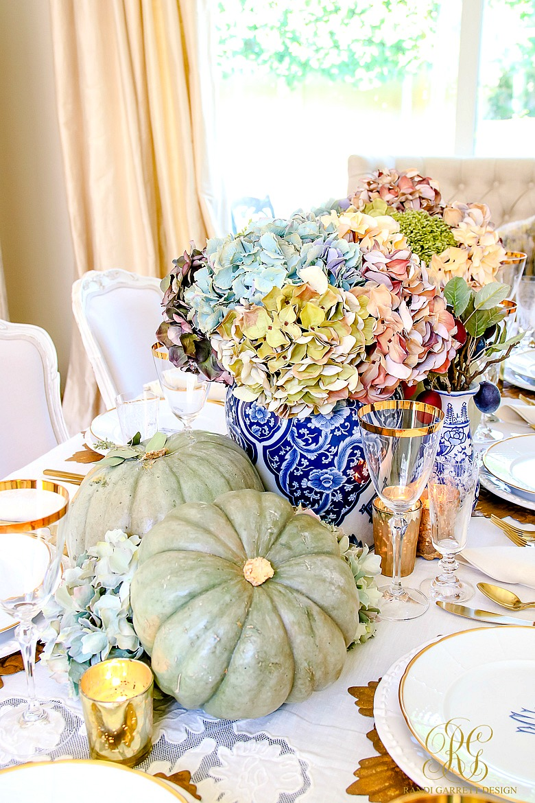 Creative Ideas for Fall or Thanksgiving Table Settings and Home Decor 12