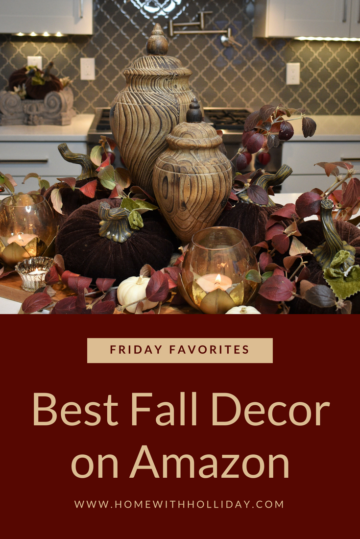 Friday Favorites – Best Fall Decor on Amazon