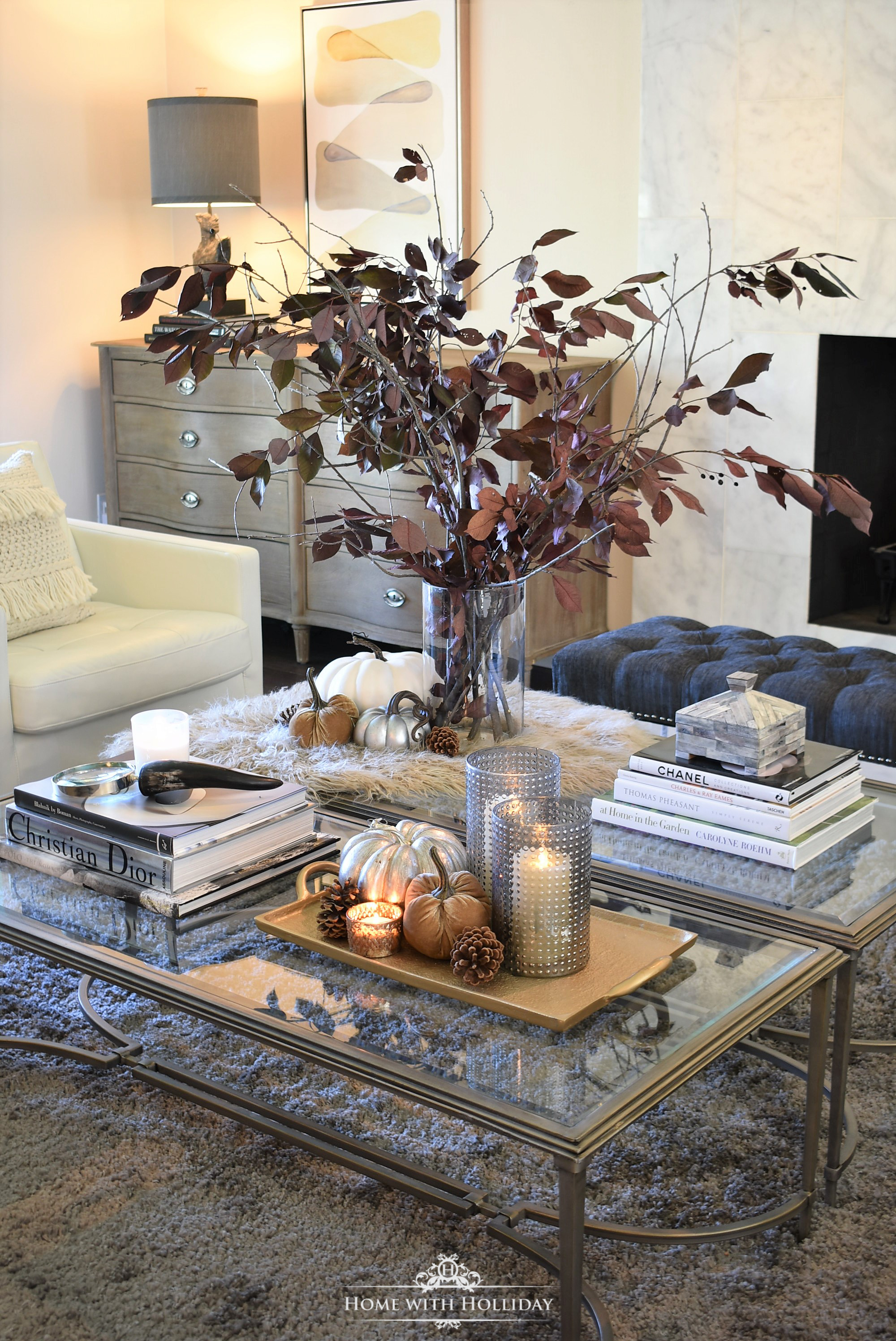 Fall Home Tour with Warm Neutral Tones - Home with Holliday