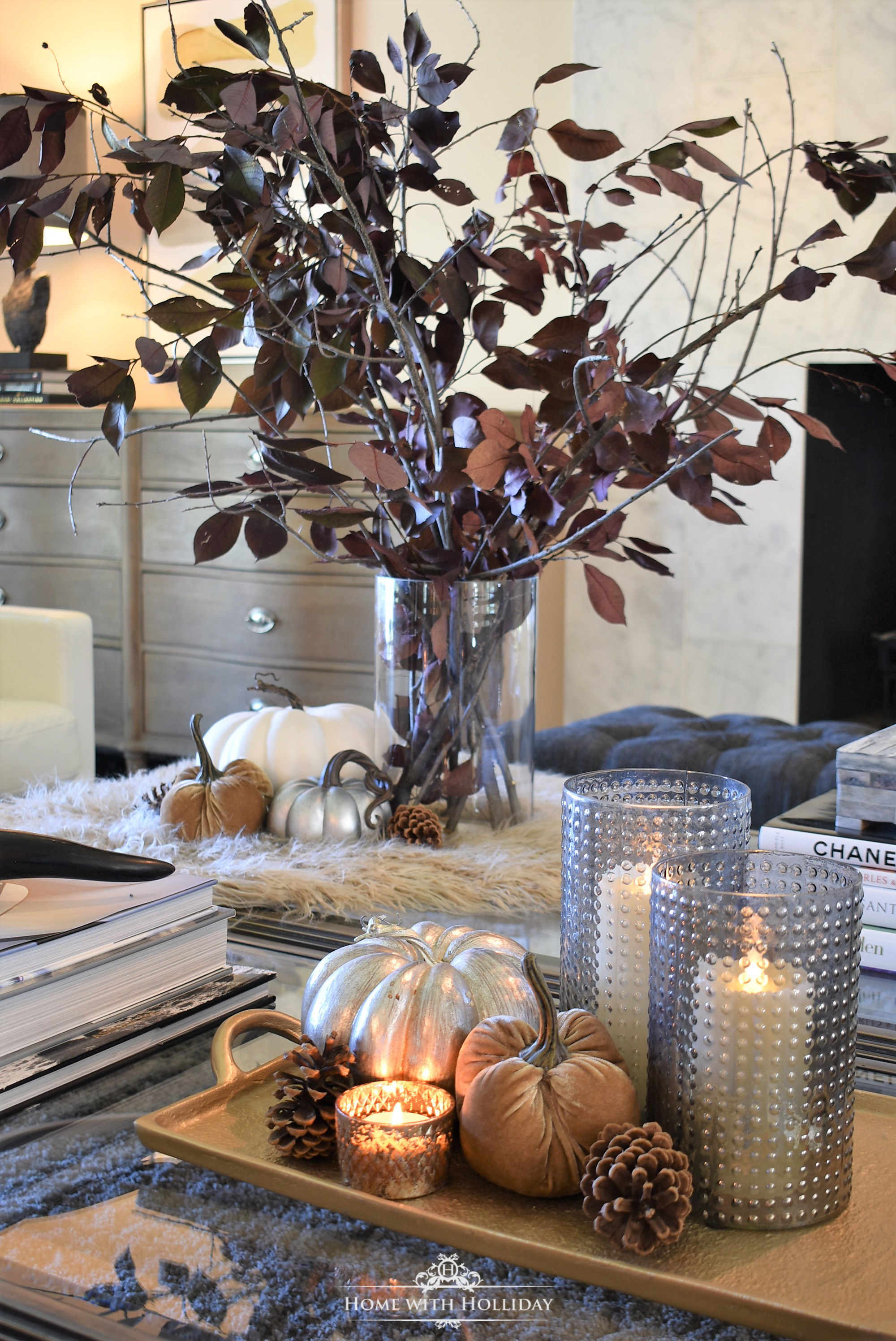 Holiday Hosting at Home Blog Hop - Fall Home Decor and Tablescapes