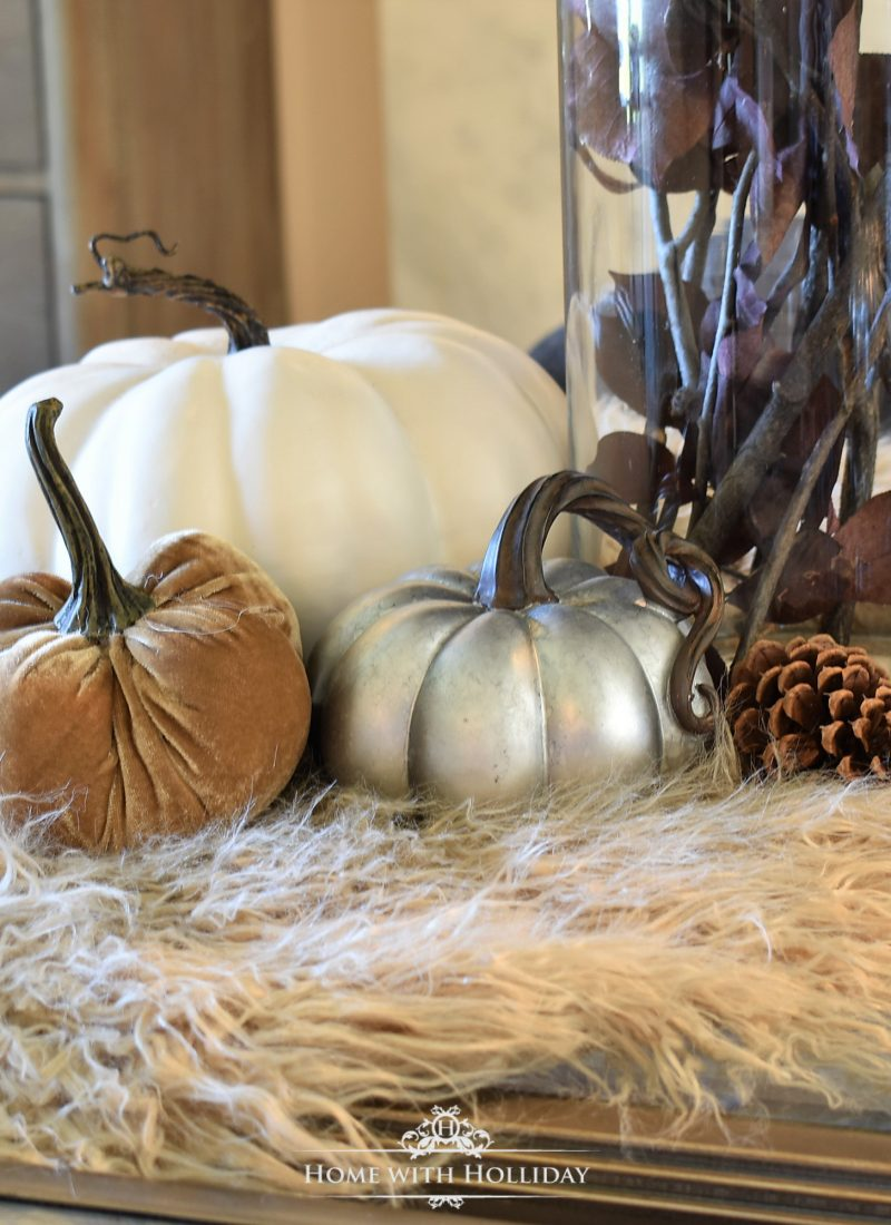 Fall Home Tour with Warm Neutral Tones - Living Room - Home with Holliday