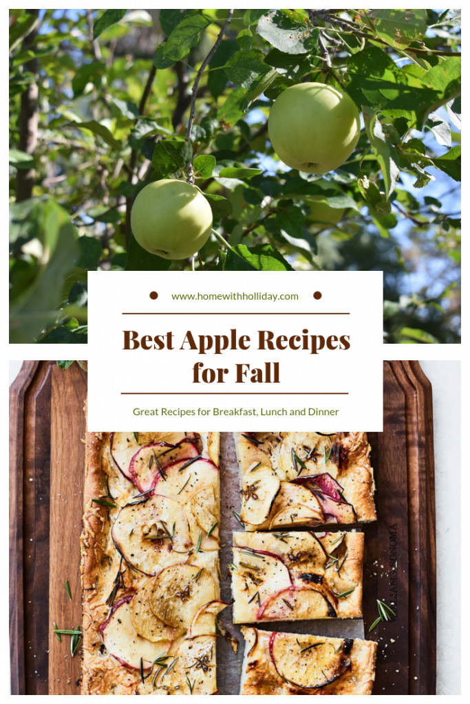 Best Apples Recipes for Fall - Home with Holliday