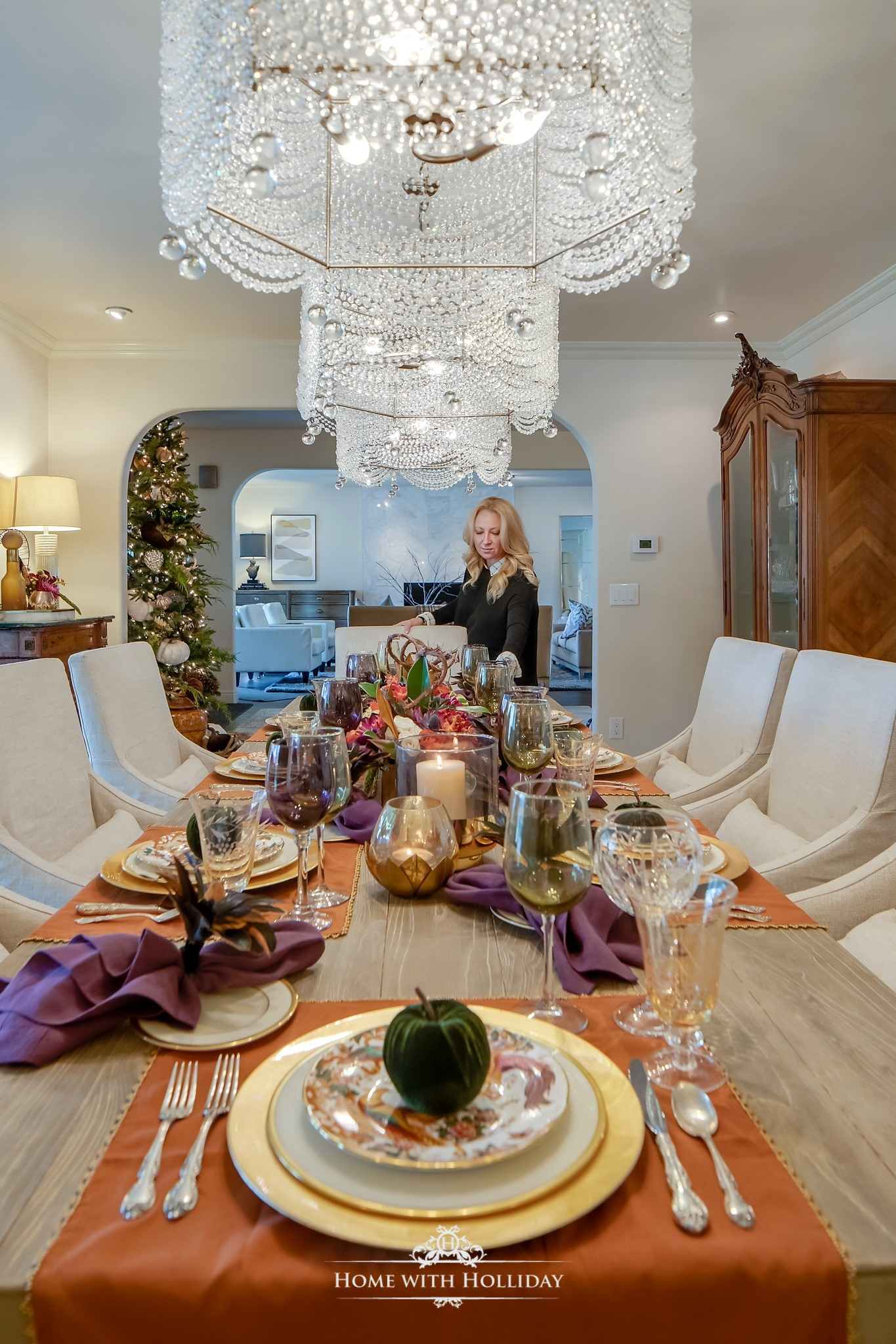 Holiday Hosting at Home - Creative Ideas and Recipes for Thanksgiving and Christmas - Home with Holliday