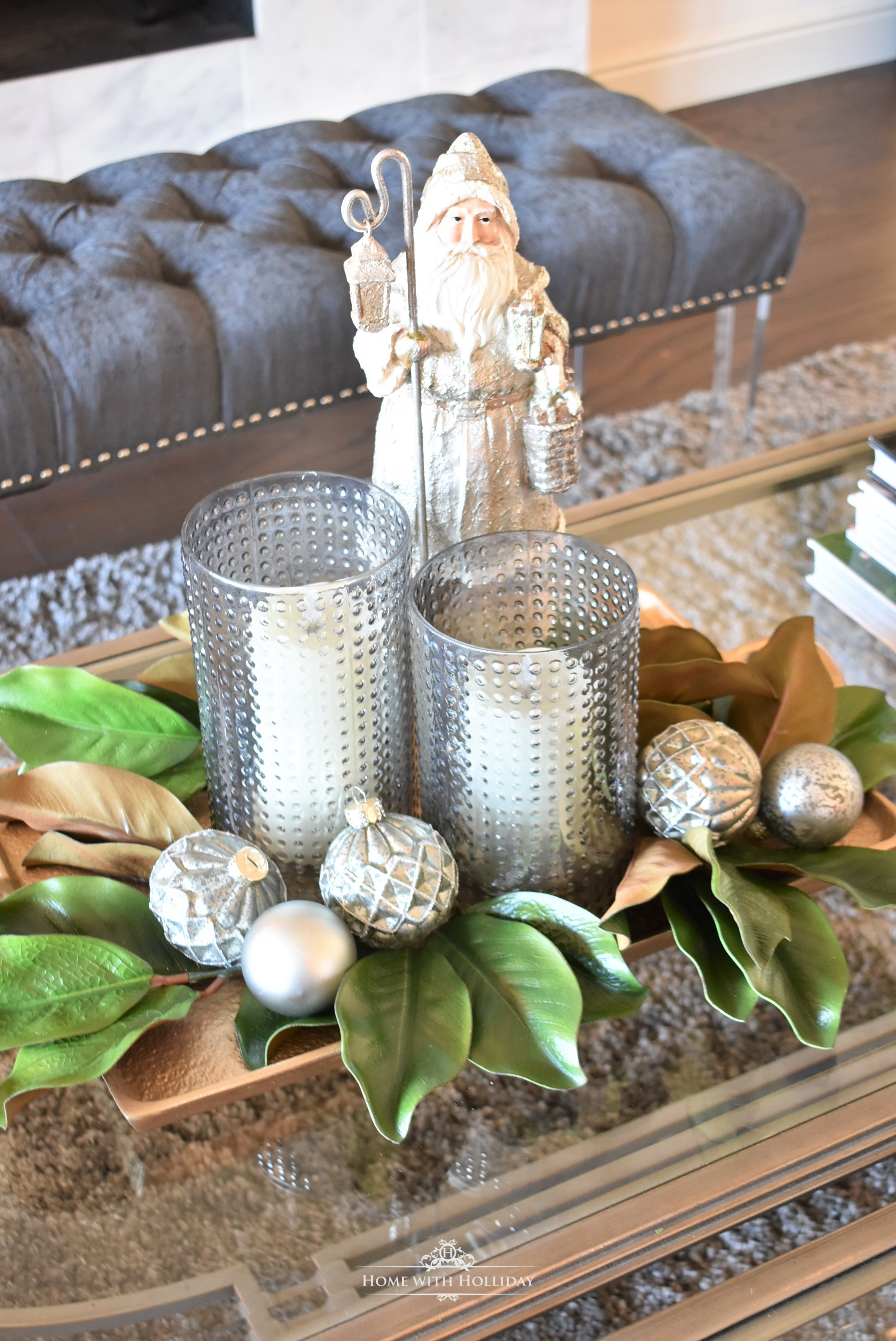 Our Christmas Home Tour - Home with Holliday
