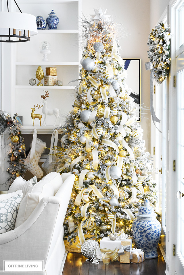 My favorite Christmas Trees of 2018! - Citrine Living - Home with Holliday