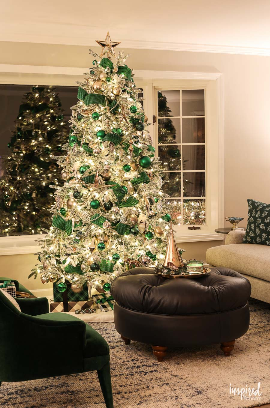My favorite Christmas Trees of 2018! - Inspired by Charm - Home with Holliday