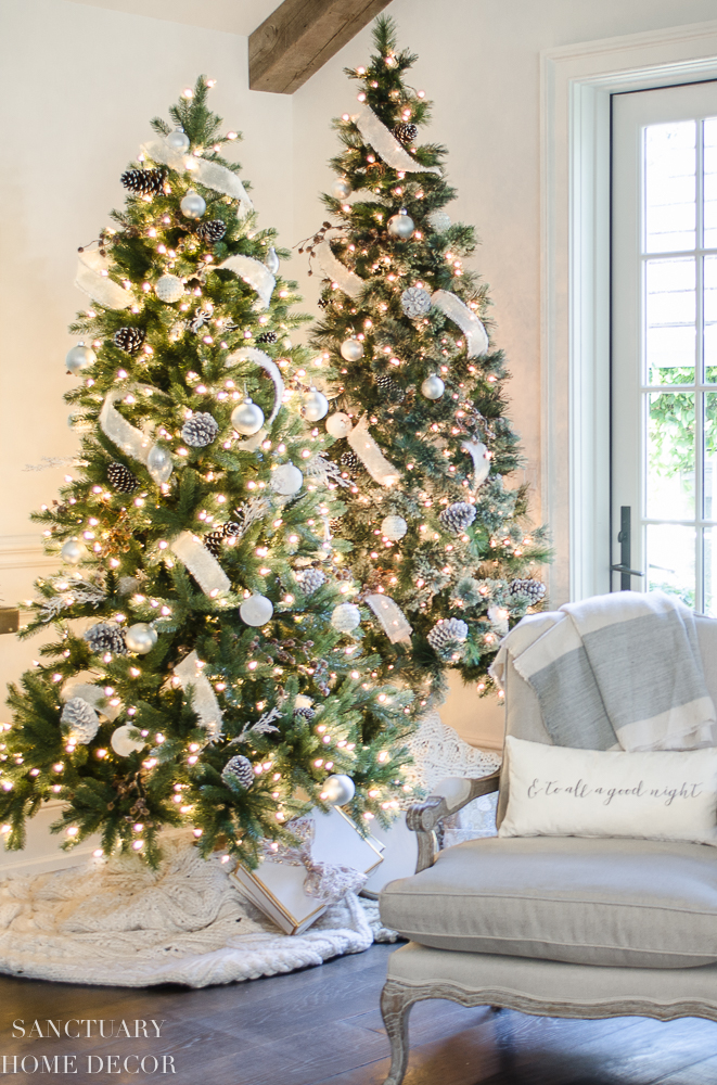 My favorite Christmas Trees of 2018! - Santuary Home Decor - Home with Holliday