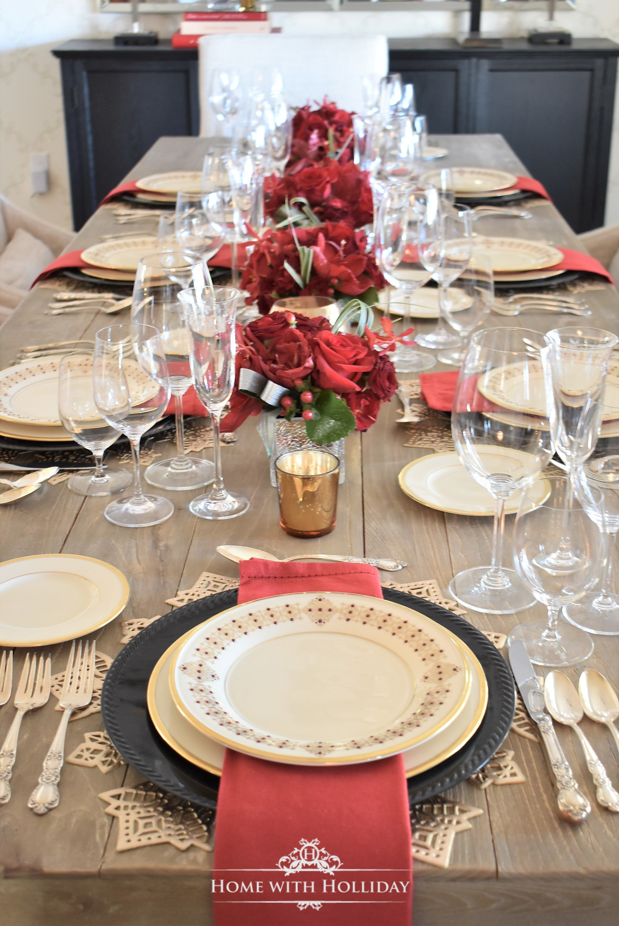Wine Tasting Dinner Party for New Year's Eve or Valentine's Day - Home with Holliday