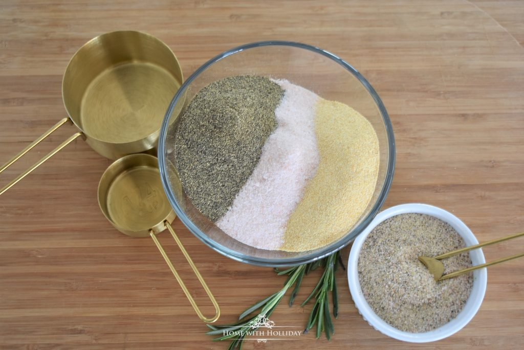 How to make Homemade House Seasoning Gifts - Home with Holliday