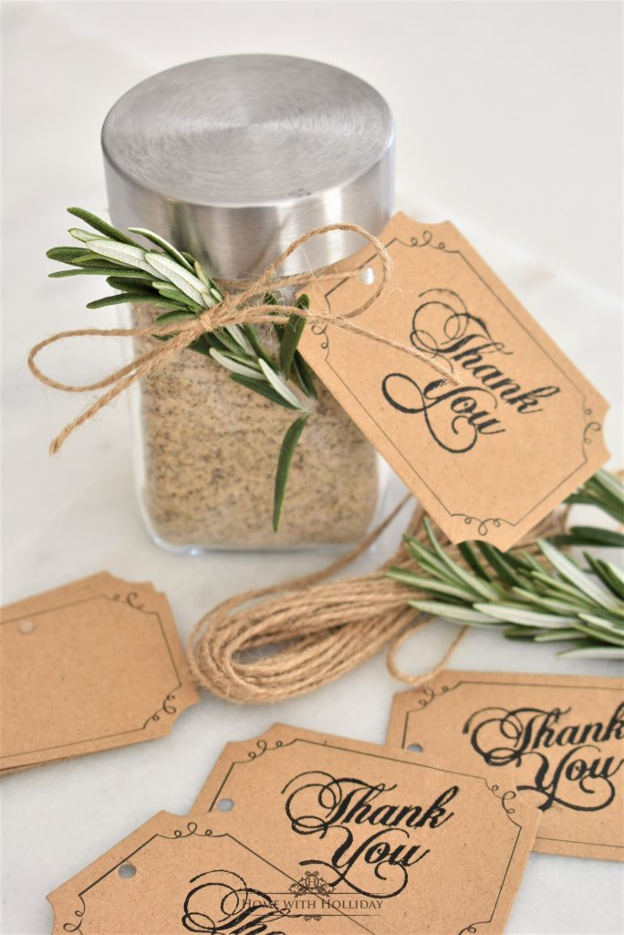 Home with Holliday's Top 10 Posts of 2019 - Easy Homemade House Seasoning Gifts