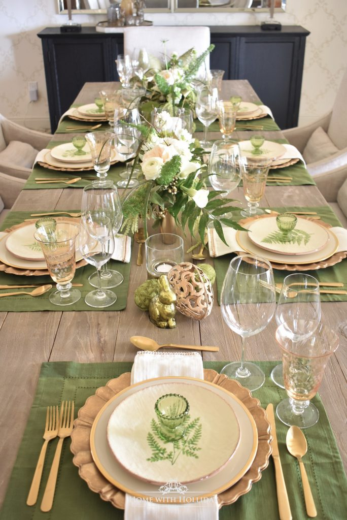 Fresh Spring Home Tour - Dining Room - Home with Holliday