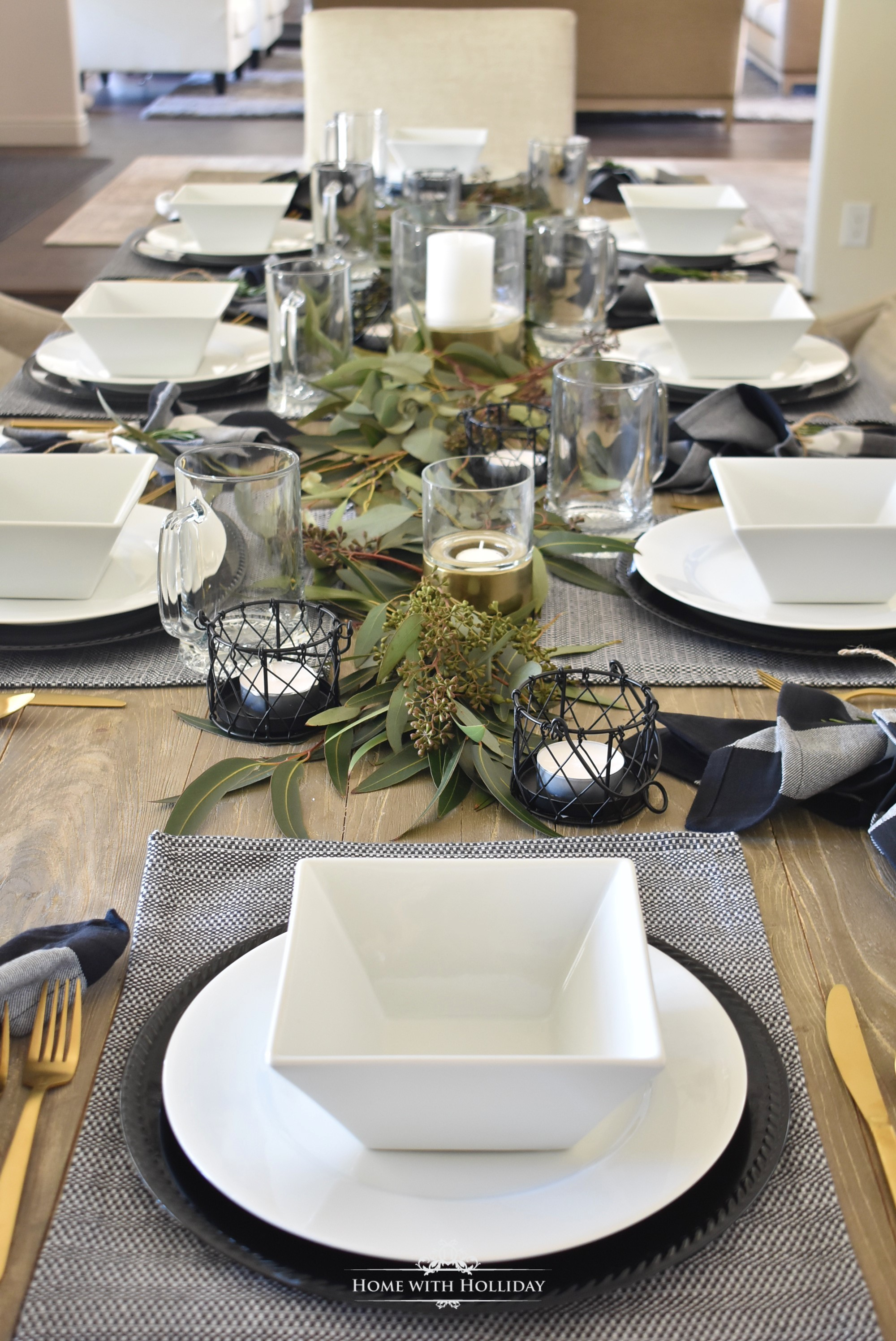 Masculine Dinner Party Ideas , Home with Holliday