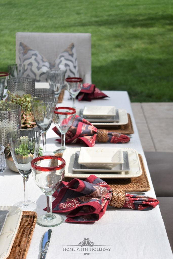 Alfresco Wine Dinner Party - Home with Holliday