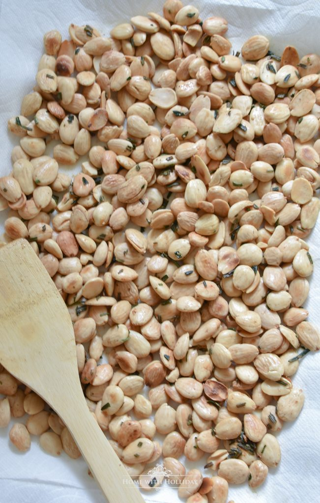 Easy Roasted Rosemary Marcona Almonds - Home with Holliday