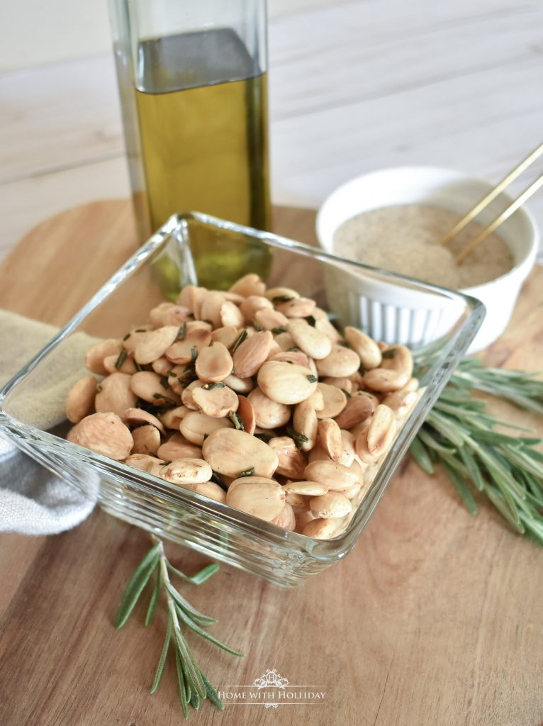 Roasted Rosemary Marcona Almonds - Home with Holliday