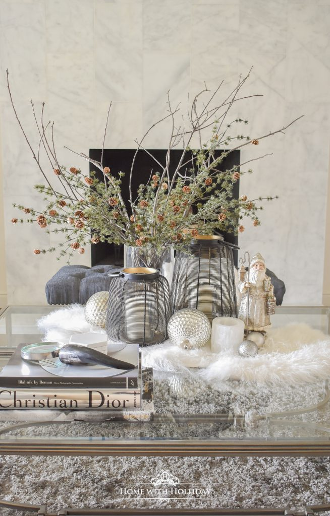 How I am Transitioning Décor from Fall to Christmas - Home with Holliday