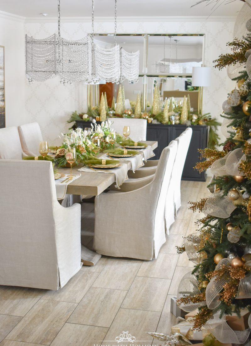 Pine Cone Themed Christmas Home Tour