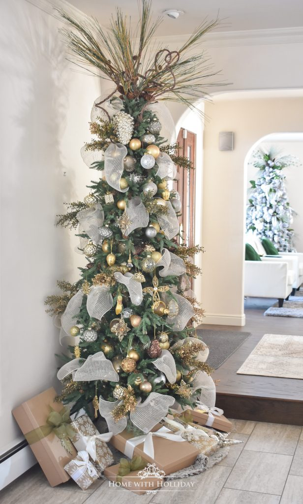 Our Mixed Metallic Woodland Christmas Tree - Home with Holliday