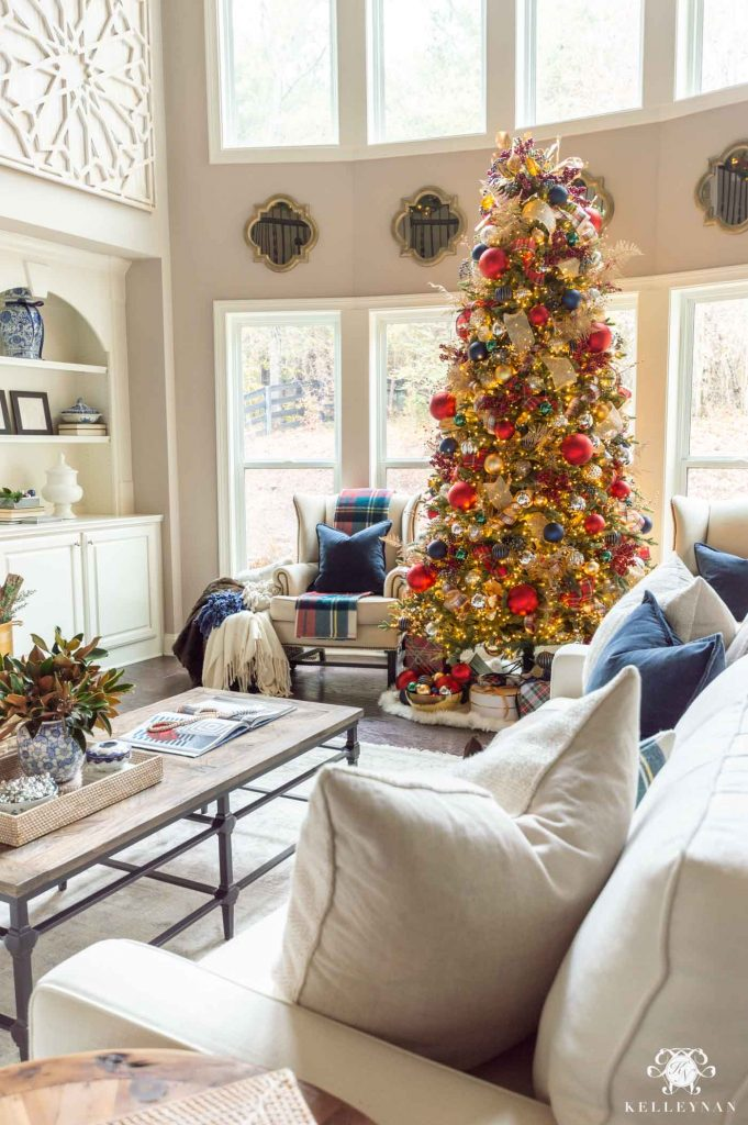 My favorite Christmas Trees of 2019 - Home with Holliday - Kelley Nan
