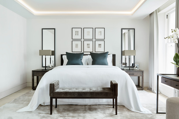More Sophisticated Transitional Master Bedroom Ideas - Home with Holliday