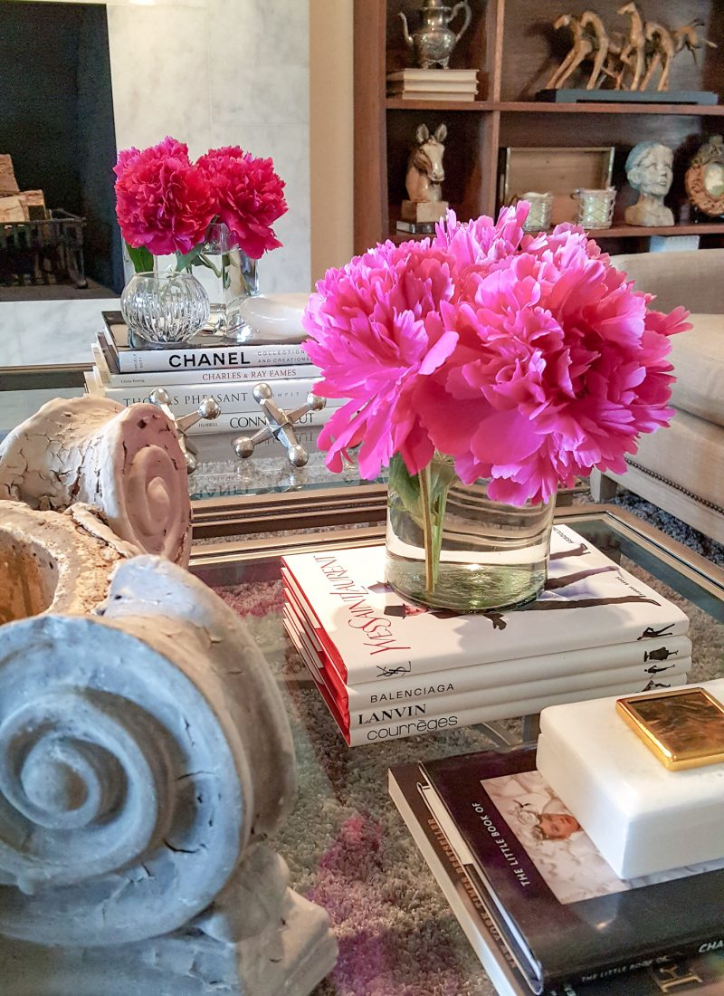 Styling your Coffee Tables