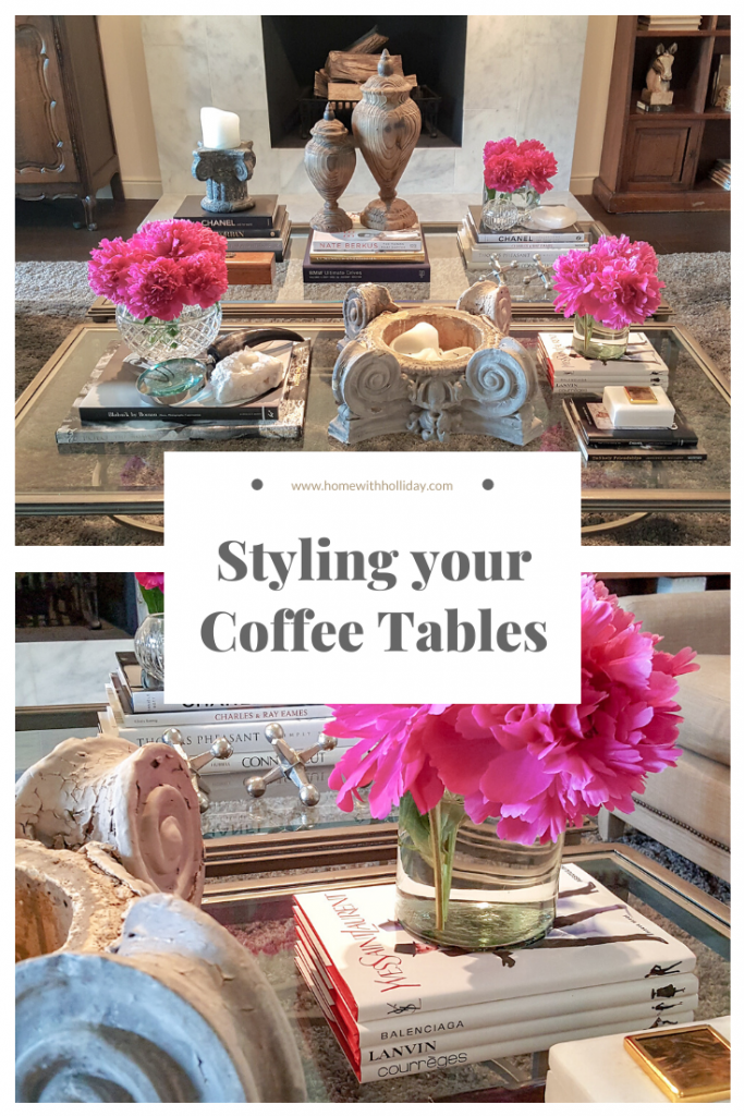 Tips for Styling your Coffee Tables - Home with Holliday