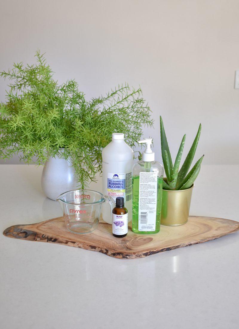 DIY Homemade Hand Sanitizer