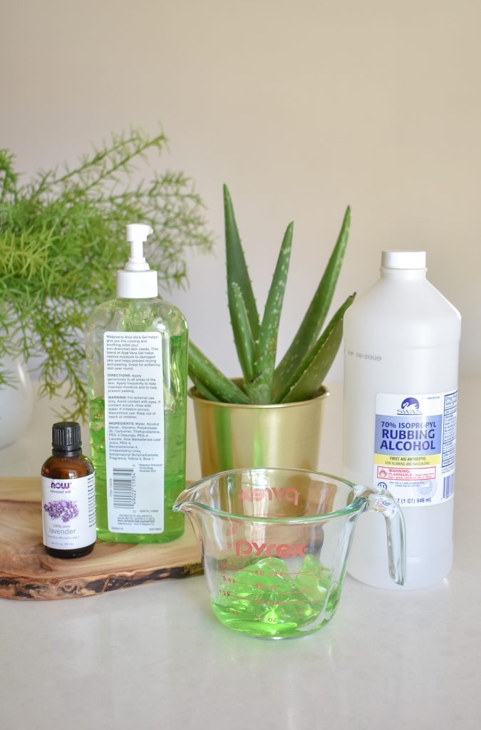 DIY Homemade Hand Sanitizer Recipe - Home with Holliday