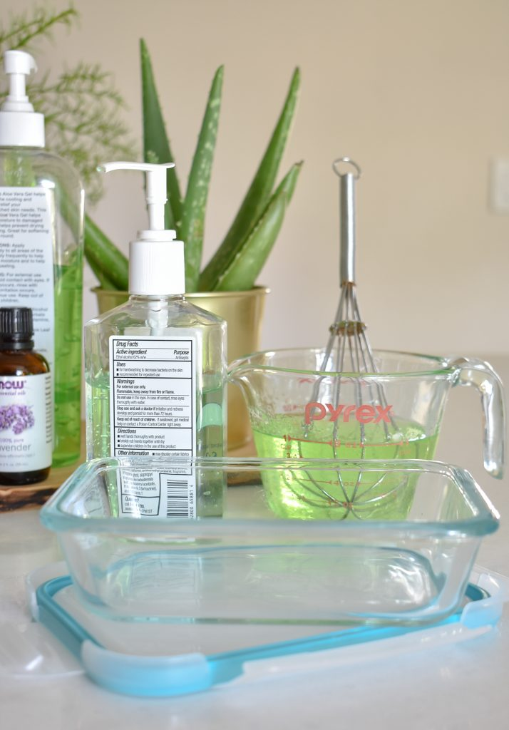 DIY Homemade Hand Sanitizer - Home with Holliday