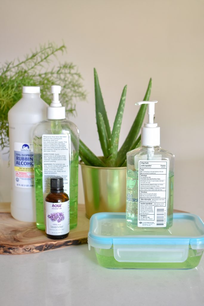 DIY Homemade Hand Sanitizer with Essential Oil - Home with Holliday