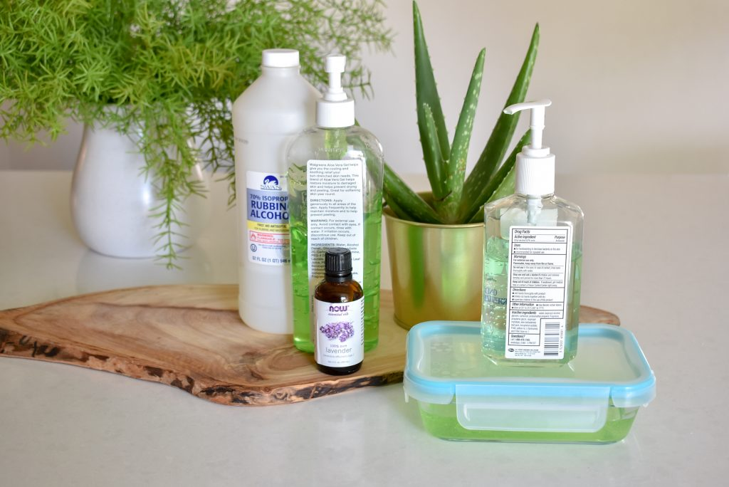 A DIY Homemade Hand Sanitizer - Home with Holliday