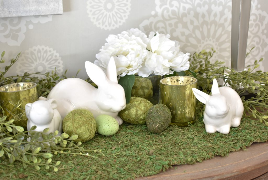 More Simple Green and White Easter Decorating Ideas - Home with Holliday